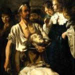 Fabritius Carel John the baptists beheading Sun.