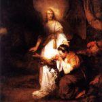 Агарь и Ангел Усекновение главы Иоанна Крестителя