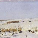 Левитан ИИ  Зимний день 1880е  дм 14х23  ГРМ