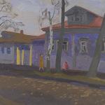 Попков Улица в Переславле 1963 км 57х70