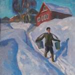 Попков Зимний день 1968