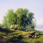 В-окрестностях-Петербурга-1868-хм-29х43-Ивановский-областной-художественный-музей