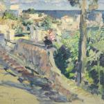 Коровин Гурзуф 1921
