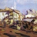 Коровин Гурзуф Старый город 1915