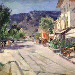 Коровин Улица в Ялте Середина 1910х хм 58.5х79.5