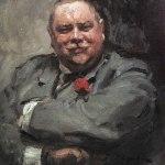 Коровин Портрет НД Чичагова 1902 хм ГТГ