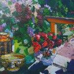 Коровин Натюрморт с цветами