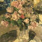 Коровин Розы 1907