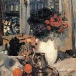 Коровин Розы и фиалки 1912 хм 92.3х73.2 ГТГ