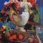 Коровин Цветы Гурзуф 1916 хм 87х66 Ярославский художественный музей