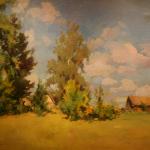 Коровин Летний пейзаж 1921