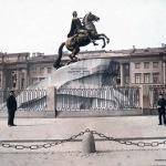 F. Krátký: Pomník Petra Velikého, 1896 č. 9