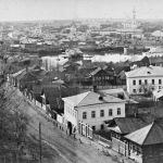 кинешма  панорама города с восточ стороны с колоколь  спасо-преображ ц