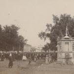 Ìÿçäðèêîâ È.Ï. (1854-1931 ãã.), Ìóðîì. Ãóëÿíèÿ íà óë. Ìîñêîâñêîé â Ìóðîìå Ôîòî 1890-õ ãã. 8,4õ10,6 Ìóðîìñêèé èñòîðèêî-õóäîæåñòâåííûé ìóçåé Ì - 12681/14