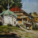 Владимирская слобода хм 61х72 Тюменский музей изобразительных искусств