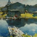 На Севере 1909-1910 хм 80х68.5 ГТГ