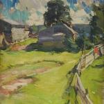 После дождя 1910 хм 96.5х75.7 Рязанский областной художественны й музей