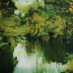 Сельский пейзаж 1903 хм 45.5х37.4 ГРМ