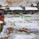Зима-Задворки-хм-Брянский-областной-художественный-музей