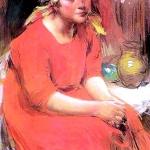 Крестьянская-девушка