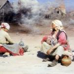 Поденщицы Этюд к картине Поденщицы на чугунолитейном заводе 1895 хм 45х87 ГТГ