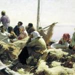 По реке Оке 1889 хм 40х76 ГТГ