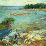 Северное море 1900е хм 71х90 Тульский музей изобразительных искусств .
