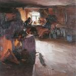 Темное утро 1912 хм 85.5х83 Киевский национальный музей русского искусства