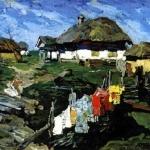 Украинские хаты 1890