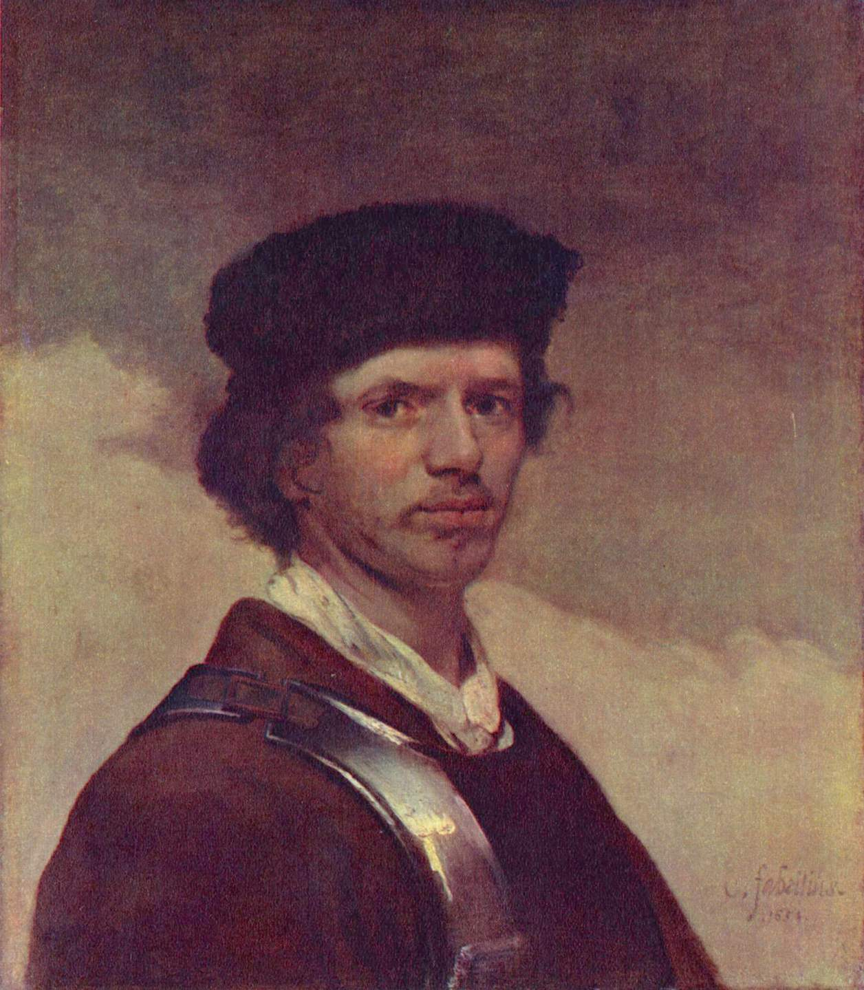 Carel_Fabritius_-_Self-portrait_-_National_Gallery,_London_-_1654