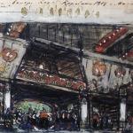 Коровин Золотая рыбка у дворянки 1903г
