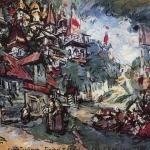 Коровин Конек-Горбунок Град-столица 1911