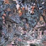 Коровин Сад маргариты 1910 Эскиз декорации 3го действия орперы Гуно Фауст