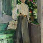 Коровин Портрет ГЛ Теляковской 1905
