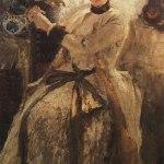 Коровин Портрет СН Голицыной 1886 хм 145х83.8 ГТГ