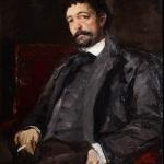 Коровин Портрет итальянского певца Мазини 1890 хм 105х70 ГТГ