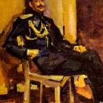 Коровин Портрет офицера 1916 хм ГРМ
