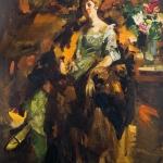 Коровин Женский портрет 1922