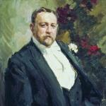 Коровин Портрет ИА Морозова 1903 хм 90.4х78 ГТГ