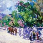 Коровин Гурзуф летом 1916