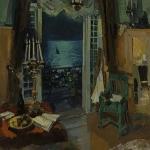 Коровин Мастерская худжника Гурзуф Крым 1914
