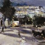 Коровин Севастополь вечером 1915 хм Калужский областной худож музей