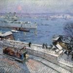 Коровин Севастополь зимой 1916 хм