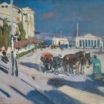 Коровин Фаэтон в Севастополе 1916 хм 70х92 Арт фонд семьи Филатовых