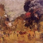 Коровин Бульвар 1902 хм Музей изо искусств Республики Карелия