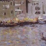 Коровин Венеция 1891 хм 25х69 Костромской гос обл худож музей