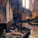Коровин Гаммерфест Северное сияние 1894-1895 хм 176.5х106.7 ГТГ