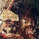 Коровин Кафе 1901 хм Нижегородский худ музей