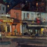Коровин Лунная ночь 1929 хм 41х32