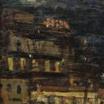 Коровин Ночной Париж 1925 дм 24х18 чк